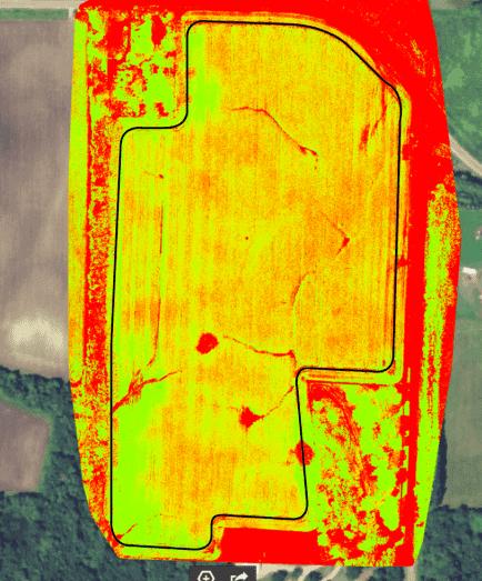 o uso da tecnologia na agricultura-NDVI